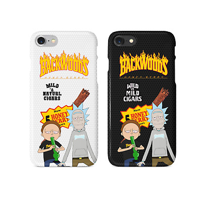 Thrasher Magazine X Backwoods Rick and Morty iPhone Case  US SELLER