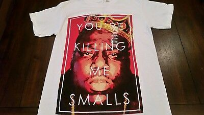 Mens  Biggie Notorious BIG  Shirt Size Small 90s Icon NYC Rap Hip Hop