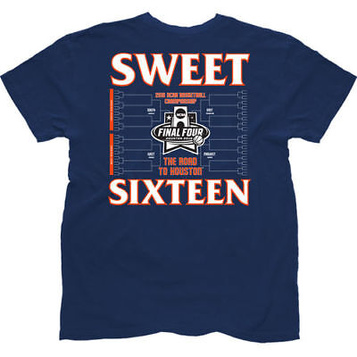The Victory Syracuse Orange Navy 2016 NCAA Mens Sweet 16 T-Shirt