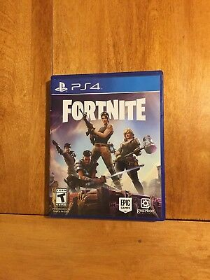 Fortnite Sony PlayStation 4 2017 Game Case - Disc ONLY
