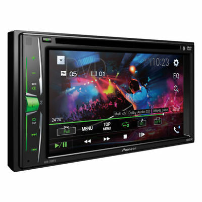 NEW Pioneer Double 2 Din AVH-200EX DVDMP3CD Player 6-2 Touchscreen Bluetooth