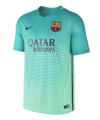 NIKE FC BARCELONA DRI FIT SOCCER JERSEY THIRD ALTERNATE YOUTH SIZE L NEW NWT