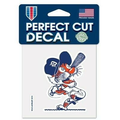 DETROIT TIGERS COOPERSTOWN COLLECTION VINYL PERFECT CUT DECAL 4X4 WINDOWS