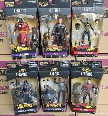 Marvel Legends Avengers Infinity War Wave 2 BAF Cull Obsidian Set Pre-Order