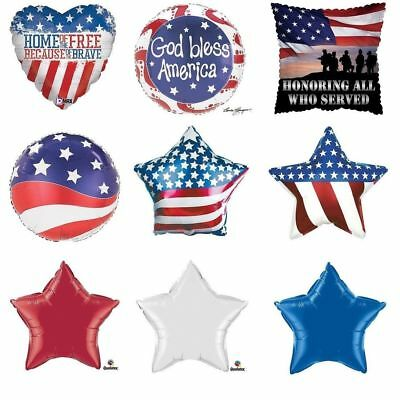4th of July Memorial Day Patriotic Party Balloons