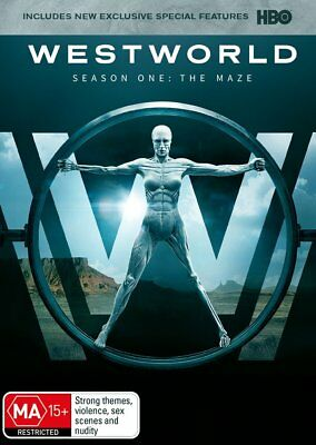 Westworld The Complete First Season One DVD3-Disc Set New