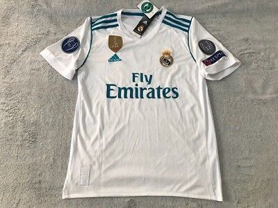 Luka Modric Real Madrid Soccer Team New Mens White Home Soccer Jersey - Size L