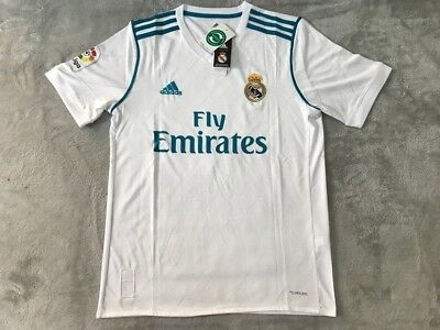 Sergio Ramos Real Madrid Soccer Team Home White Jersey - New Mens - Size L