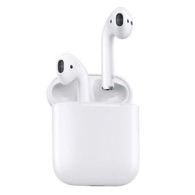 Authentic Apple AirPods In-Ear Wireless Bluetooth Headsets w Case MMEF2AMA