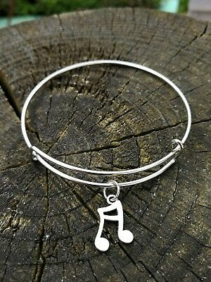 Eurovision Song Contest 2018 All Aboard Inspired Musical Music Note Bracelet