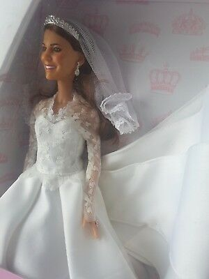 Royal Wedding Kate Middleton Collectors Princess Catherine Doll by Lottie Arklu