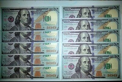 100 x 10 PRETEND PROP MOVIE MONEY  1000-