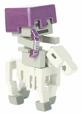 Mattel MCJG9 Minecraft Deluxe Mini Skeleton Rider Figure Action
