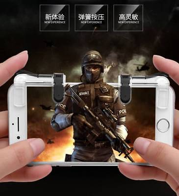 Fortnite PUBG L1R1 Mobile Phone Game Controller Shooter Trigger Fire Button NN