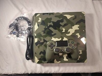 Call of Duty WW2 Playstation 4 Limited Edition Console Game Not Included