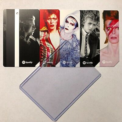 David Bowie Limited Edition MetroCard MTA New York City Transit w Hard Sleeve