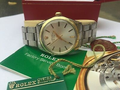 Authentic Rolex Air King Circa 1970s Automatic 14K - Stainless