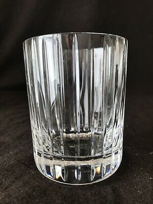 Baccarat Crystal Harmonie Double Old Fashioned Tumbler Glass 4 18 H French