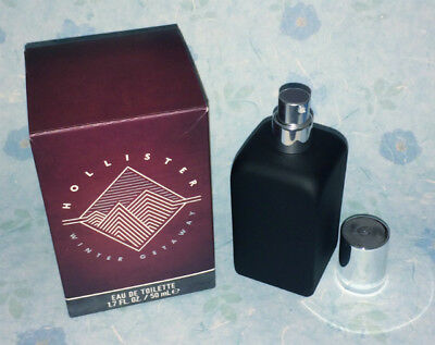 Hollister Co- Mens Winter Getaway edt toilette 1-7 oz Limited Edition NLA NEW