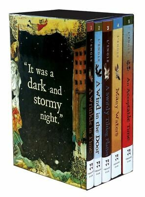 Wrinkle in Time Quintet Boxed Set A Wrinkle in Time A Wind in the Door A Swif