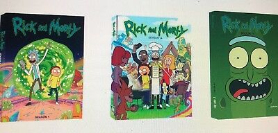 Rick and Morty The Complete Series Season 1 - 3 6-Disc DVD Box Set NEW Sealed