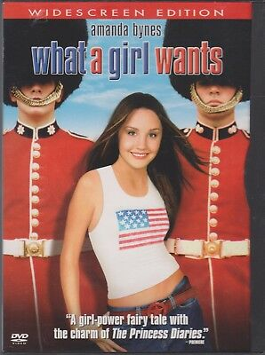 What a Girl Wants DVD 2003 WS Amanda Bynes Colin Firth Kelly Preston