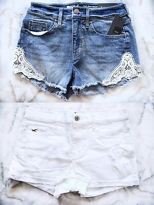 Hollister Co- Mossimo High Rise Short Bundle Size 0
