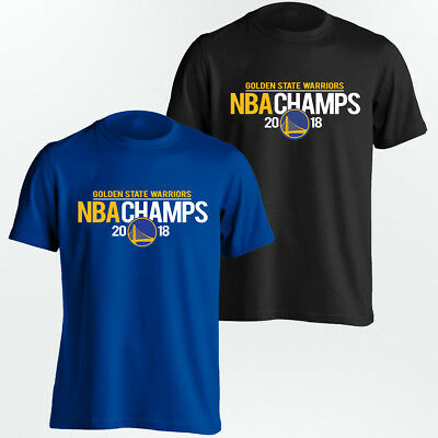Warriors Champions T-Shirt - Golden State 2018 NBA Champs Unisex Shirt