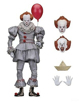 IT - 7 Scale Action Figure - Ultimate Pennywise 2017 - NECA