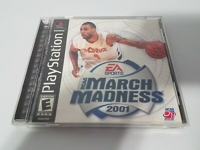 NCAA March Madness 2001 Sony Playstation 1 PS1 Blockbuster Sticker