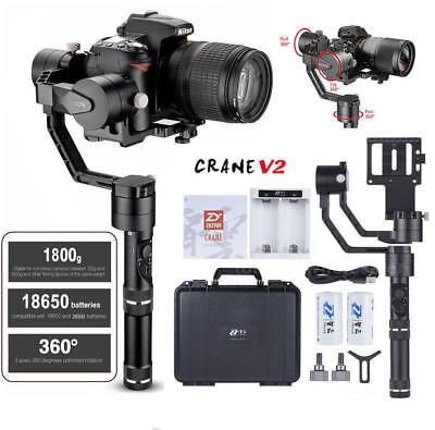 ZHIYUN Crane V2 3-Axis Handheld Stabilizer Gimbal Carry up to 3-96lb