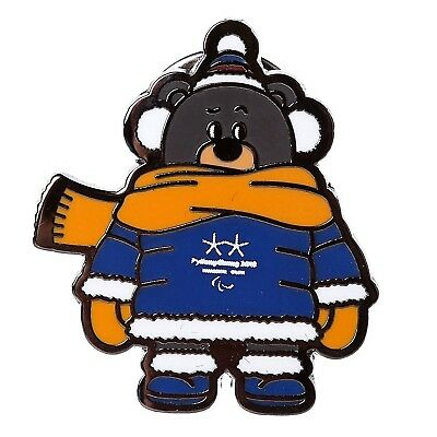 PARALYMPIC OFFICIAL MASCOT COLD WEATER 2018 PYEONGCHANG KOREA OLYMPIC GAMES PIN
