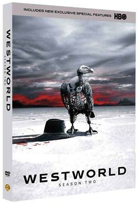 Westworld The Complete Season 2 DVD New FREE SHIPPING US Seller 🏅🎗️