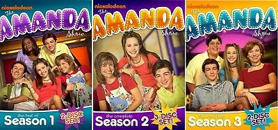 The Amanda Bynes Show Complete Seasons 1-3 DVD Bundle NEW Free Ship 1 2 3