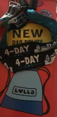 Lollapalooza  4 Day Wristband 2018 Tickets Chicago Grant Park