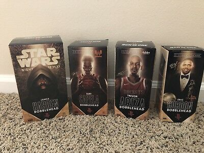Houston Rockets Bobbleheads collector set