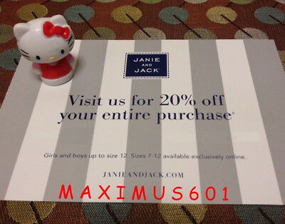 Janie and Jack 20 Off Entire Purchase Code Expires 100218