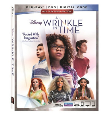 A Wrinkle In Time Blu-ray DVD Digital - NEW - SLIPCOVER