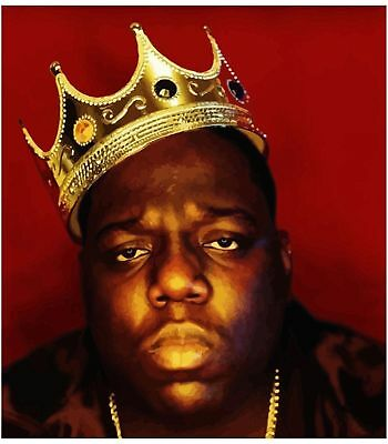 Biggie Smalls Notorious BIG PREMIUM Art Silk Poster 8x12inch