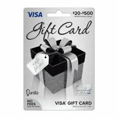 200 VISA CARD ready to use activated gift no fees FREE SHIPPING