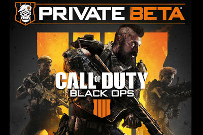 Call Of Duty Black Ops 4 Early Access Code BETA Instant Delivery PS4 XBOX ONE PC