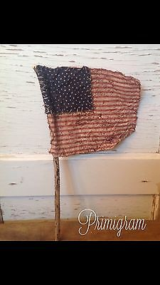 Primitive Americana Patriotic Summer 4th Of July Memorial Day Flag