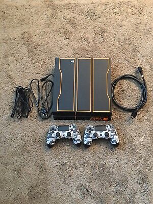 Sony Playstation 4 1tb Limited Edition Black Ops 3 Console