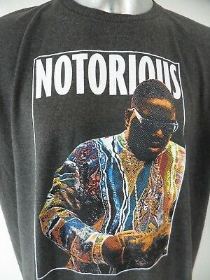 Notorious BIG Biggie Smalls Hip Hop Rapper Brooklyn Mint XXL T Shirt Juicy