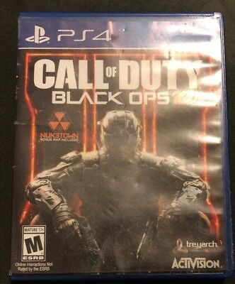 Call of Duty Black Ops 3 III PS4 Playstation 4 COD BO - Complete Free Shipping