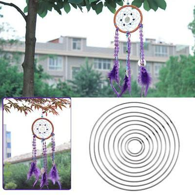 HOOP RING MANUAL HANDMADE WICKER CRAFT 1PC SIMPLE STRONG METAL DREAM CATCHER