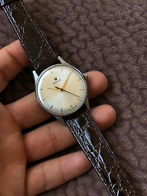 Rolex Vintage Precision Manual Stainless Swiss Dress Watch vintage Serviced