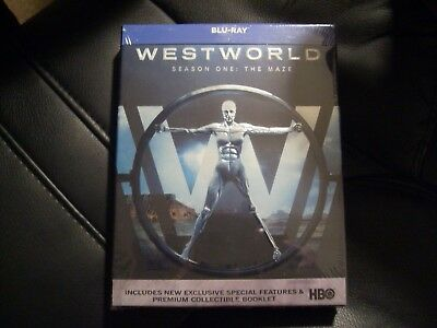 Westworld - Season 1 The Maze Blu-Ray Boxset NewSealed