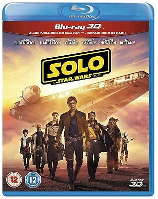 Solo A Star Wars Story Blu-ray 3D