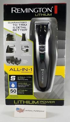 Remington PG6025 All-in-1 Lithium Powered Grooming Kit Trimmer